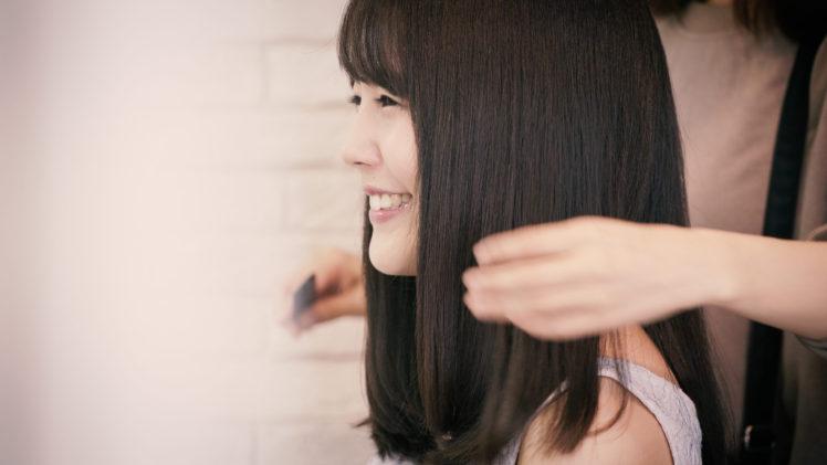 美髪モデル